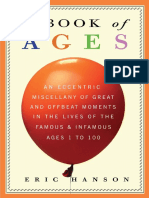 A Book of Ages by Eric Hanson - Excerpt