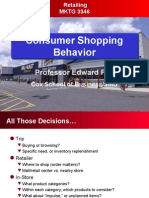 Shopping Behavior in Consumer Goods
