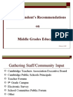 Middle Grades education