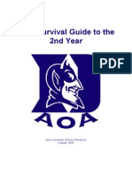 AOA Survival Guide to the 2nd Year[1]