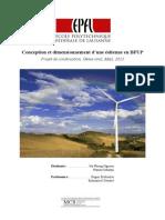 Dimensionnement d'Une Éolienne en BFUP_VF
