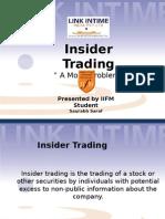 Insider Trading basic