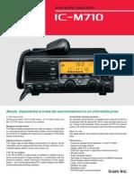 Icom_M-710 Marine Transceiver Brochure