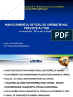 Managementul Stressului Operational