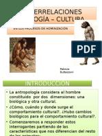 INTERRELACIONES BIOLOGÍA,  CULTURA
