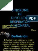 Sdr Neonatal