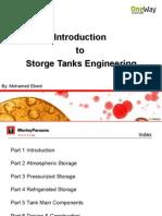 Introduction to Storage Tanks