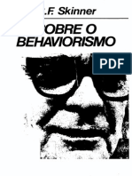 Skinner, B. F. (2002). Sobre o Behaviorismo