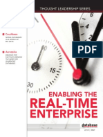 DBTA Thought Leadership Series Enabling the Real Time Enterprise
