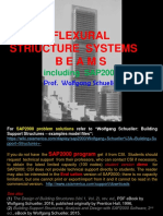 Flexural Structure Systems, Beams - including SAP2000 (rev. ed.), Wolfgang Schueller