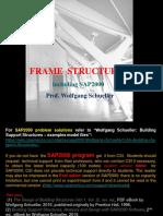 Frame Structures  including SAP2000 (rev. ed.), Wolfgang Schueller