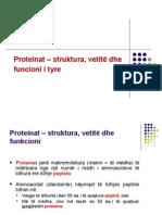 (9) Proteinat - Strukturadhei Funkcioni