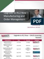 R12 Upgrade Features SCM
