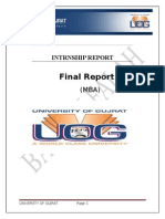 Intrnship Report on Bank Alfalah