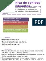Ejercicios de Terapia Sintomatologica Ppt