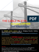 The Cable in Building Structures including SAP2000 (rev. ed.), Wolfgang Schueller