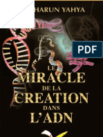 Le Miracle De La Creation Dans L'adn