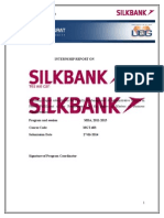 Internship Report on Silk BanK