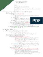 PR Outline