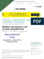Moldes de Blusas Con Cortes AsimétricosEl Costurero de Stella _ El Costurero de Stella