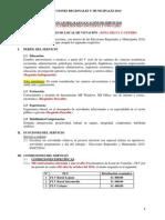 Locación de Servicios Flv - Erm 2014_zona Selva y Centro