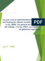 LEY 29981 Puyen