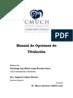 Manual de Opciones de Titulacion