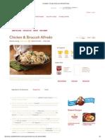 Campbell's Chicken & Broccoli Alfredo Recipe Tips