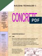 Concrete lecture