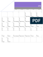 21 Day Fix March MONTHLY Meal Plan Calendar Template