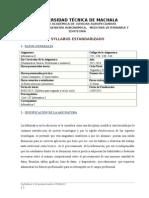 Syllabus Informacia II Agron. Vet. 2015 - 2016
