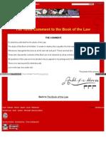 Al Vel Legis-tunis Commentary