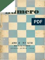 Revista NÚMERO Año 2 Nº 6-7-8 - Vilariño Sobre Herrera