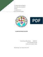 Proceso de Defecacion (Clarificaion})