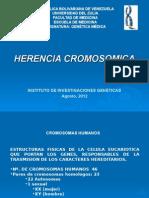 4 HERENCIA CROMOSOMICA
