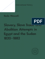 Slave, Slave Trade and Abolition Attempts in Egypt and Sudan 1820-1882 (1981)