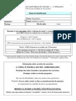 Plano de Estudo Individual - 1º Bim de Cálculo 2 - 2015