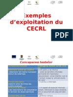 3.2 Exemples DΓÇÖexploitation Du CECRL