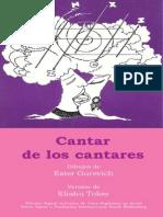 CANTAR DE CANTARES VERSION ARGENTINA NUEVA