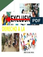 Cartel Promoviendo El Derecho a La Educacion