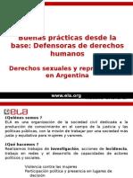 derechos sexuales practica
