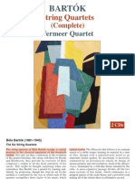 Bartok String Quartets (Complete).Unlocked