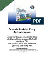 Guia de Instalación de Base de Datos DataLain MaPreX en Windows Vista
