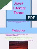 Juliet Literary Terms
