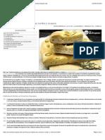 Focaccia Italiana de Aceitunas Verdes y Romero - Recetasderechupete.com