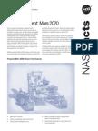 Mars 2020 Fact Sheet