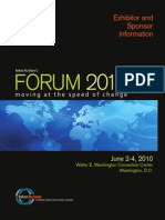 Forum 2010 Exhibitor Brochure Web