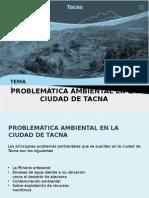 Problemática Ambiental en La Ciudad de Tacna