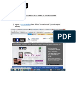 Instructivo Para Ver Calificaciones en Web Institucional