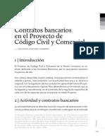 Contratos Bancarios Nuevo Ccc-Infojus